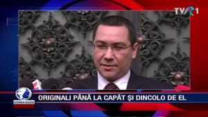 ORIGINALI PÂNĂ LA CAPĂT ȘI DINCOLO DE EL