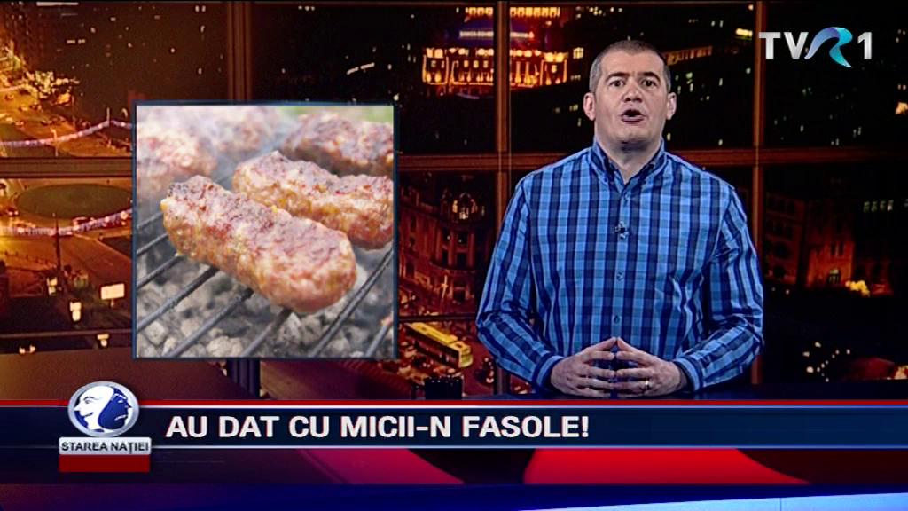AU DAT CU MICII-N FASOLE!
