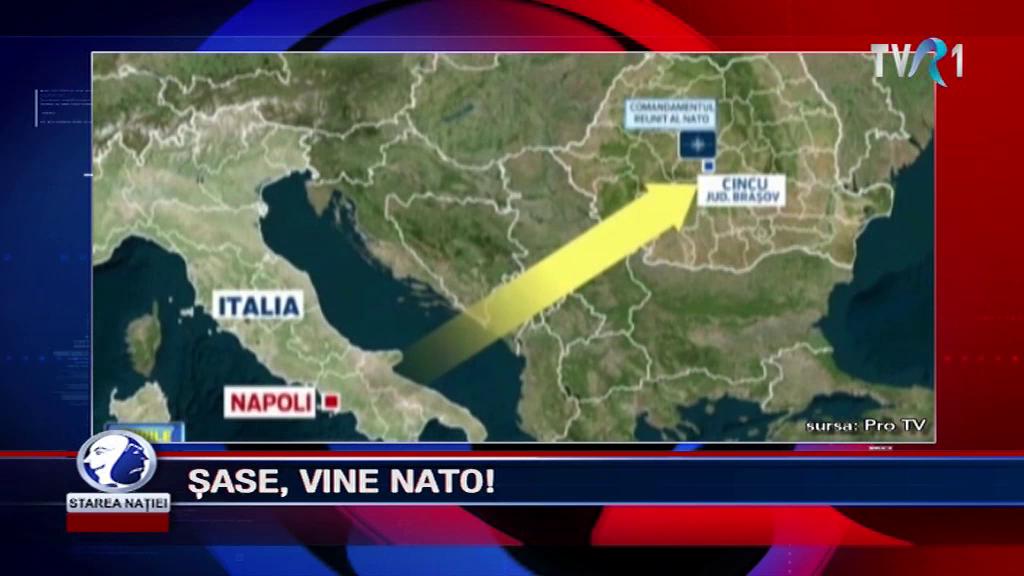 ȘASE, VINE NATO!