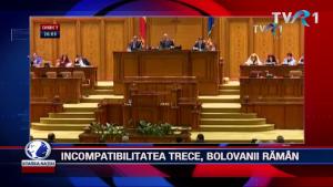 INCOMPATIBILITATEA TRECE, BOLOVANII RĂMÂN