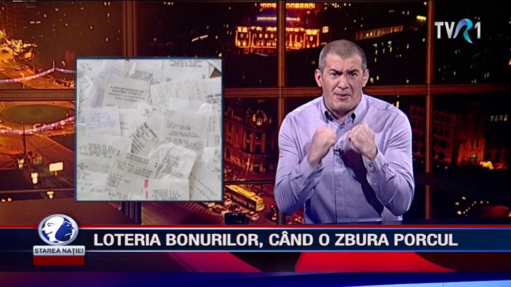 LOTERIA BONURILOR, CÂND O ZBURA PORCUL