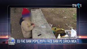 EU FAC BANI POPII, POPA FACE BANI PE CÂRCA MEA