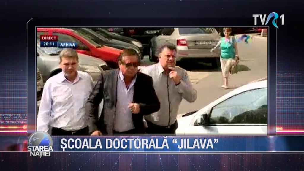 """ȘCOALA DOCTORALĂ """"JILAVA"""""""