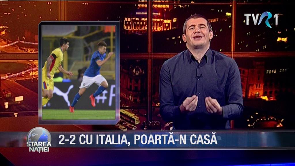 2-2 CU ITALIA, POARTĂ-N CASĂ