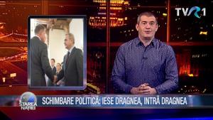 SCHIMBARE POLITICĂ: IESE DRAGNEA, INTRĂ DRAGNEA