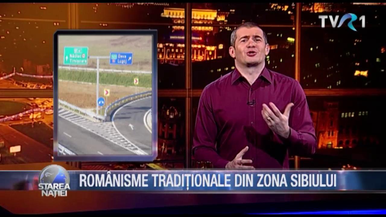 ROMÂNISME TRADIȚIONALE DIN ZONA SIBIULUI