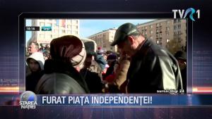 Furat Piața Independenței!