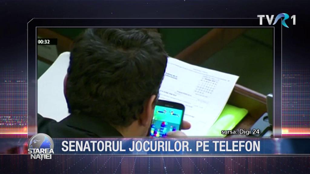 SENATORUL JOCURILOR. PE TELEFON