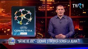 """""""BĂTAIE DE JOC"""" - LUCRARE ȘTIINȚIFICĂ SCRISĂ LA JILAVA"""