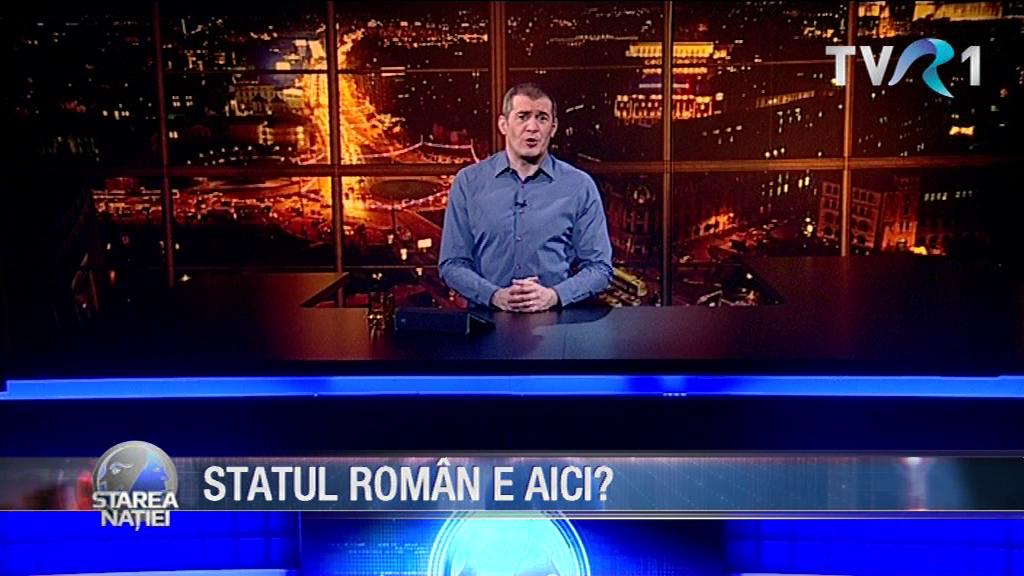 STATUL ROMÂN E AICI?