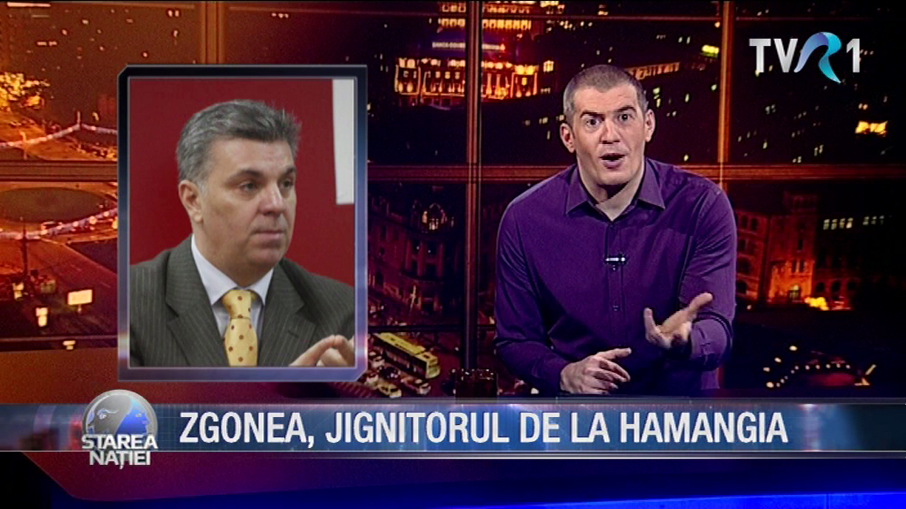 ZGONEA, JIGNITORUL DE LA HAMANGIA