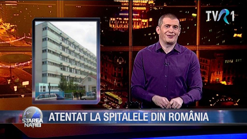ATENTAT LA SPITALELE DIN ROMÂNIA