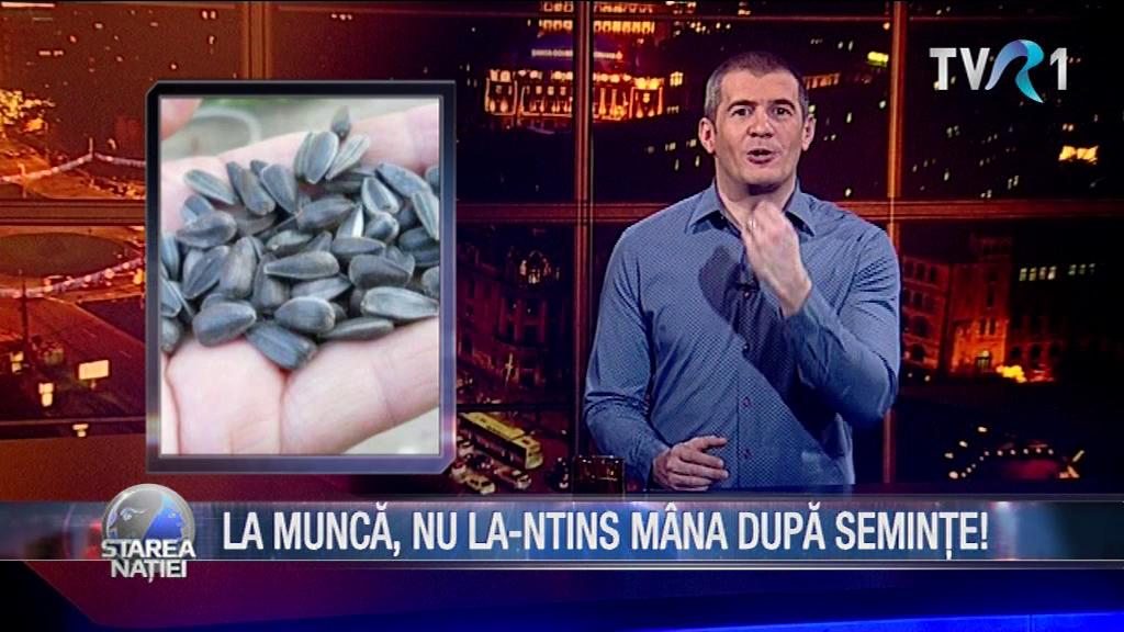 LA MUNCĂ, NU LA-NTINS MÂNA DUPĂ SEMINȚE!