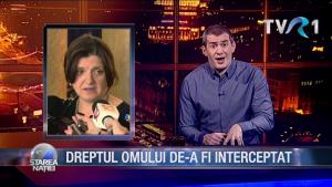 DREPTUL OMULUI DE-A FI INTERCEPTAT