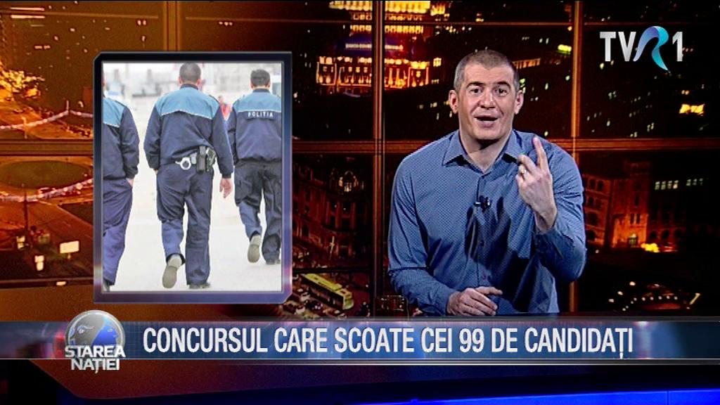 CONCURSUL CARE SCOATE CEI 99 DE CANDIDAȚI