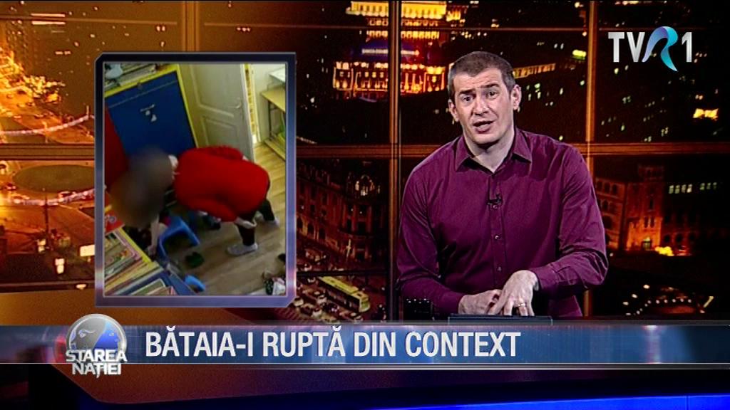 BĂTAIA-I RUPTĂ DIN CONTEXT