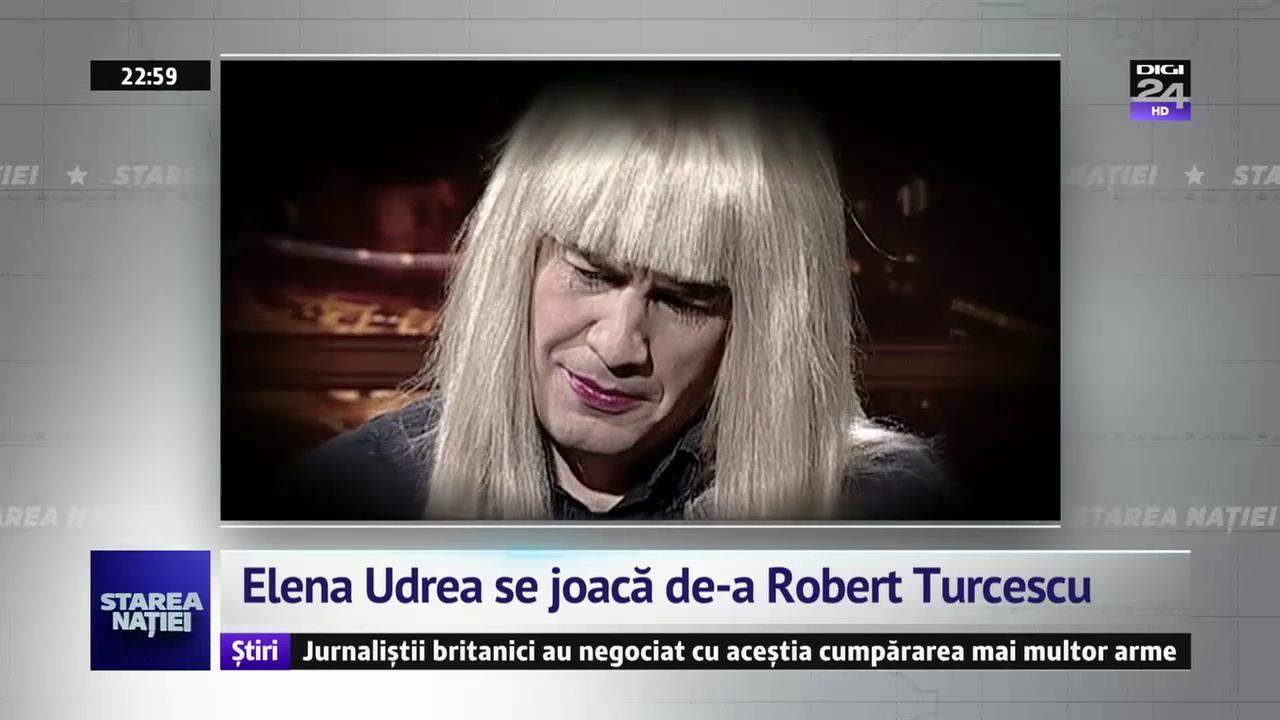 Elena Udrea se joacă de-a Robert Turcescu