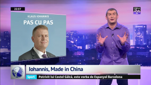 Iohannis, Made in China