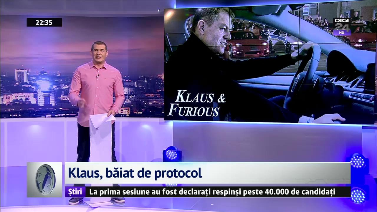 Klaus, băiat de protocol