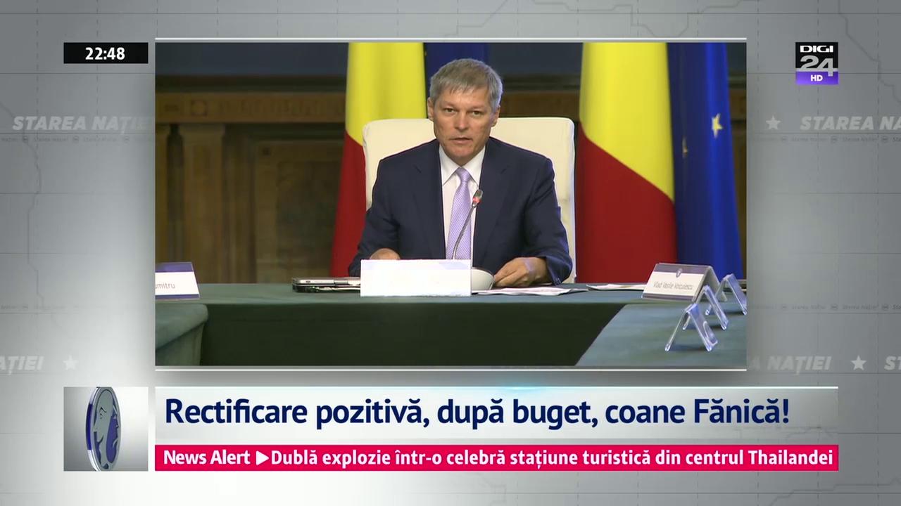 Rectificare pozitivă, după buget, coane Fănică!