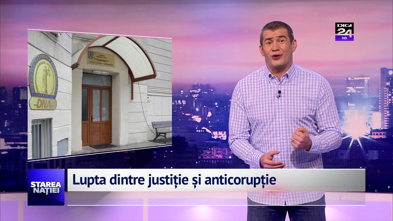 Lupta dintre justiție și anticorupție