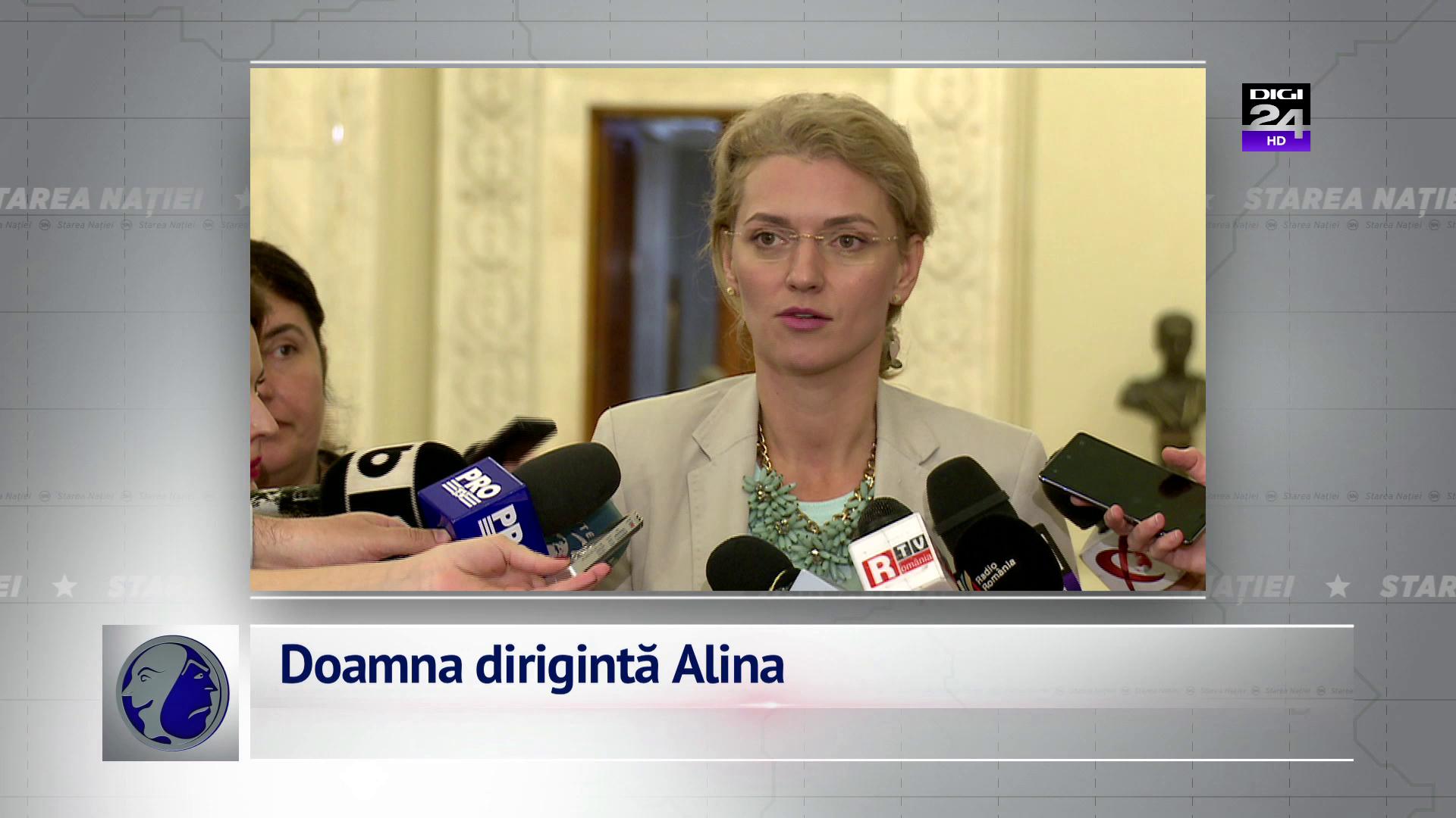 Doamna dirigintă Alina