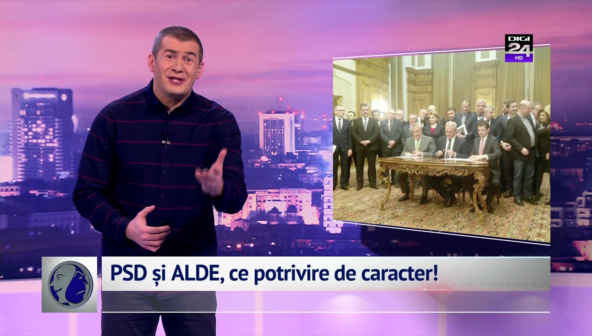 PSD și ALDE, ce potrivire de caracter!