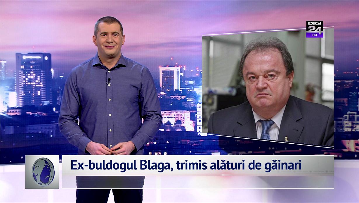 Ex-buldogul Blaga, trimis alături de găinari