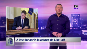 A ieșit Iohannis la adunat de Like-uri!