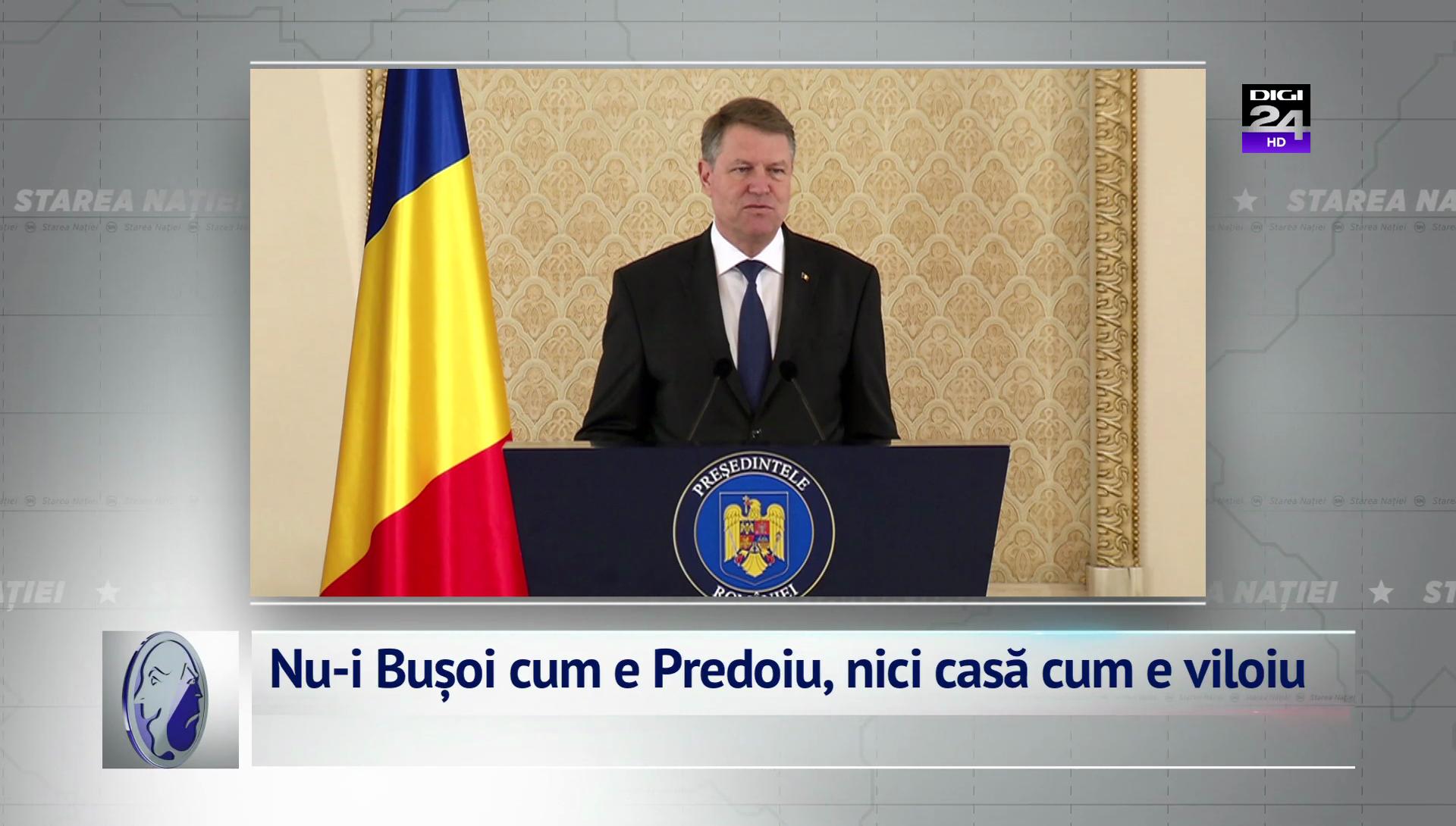 Nu-i Bușoi cum e Predoiu, nici casă cum e viloiu