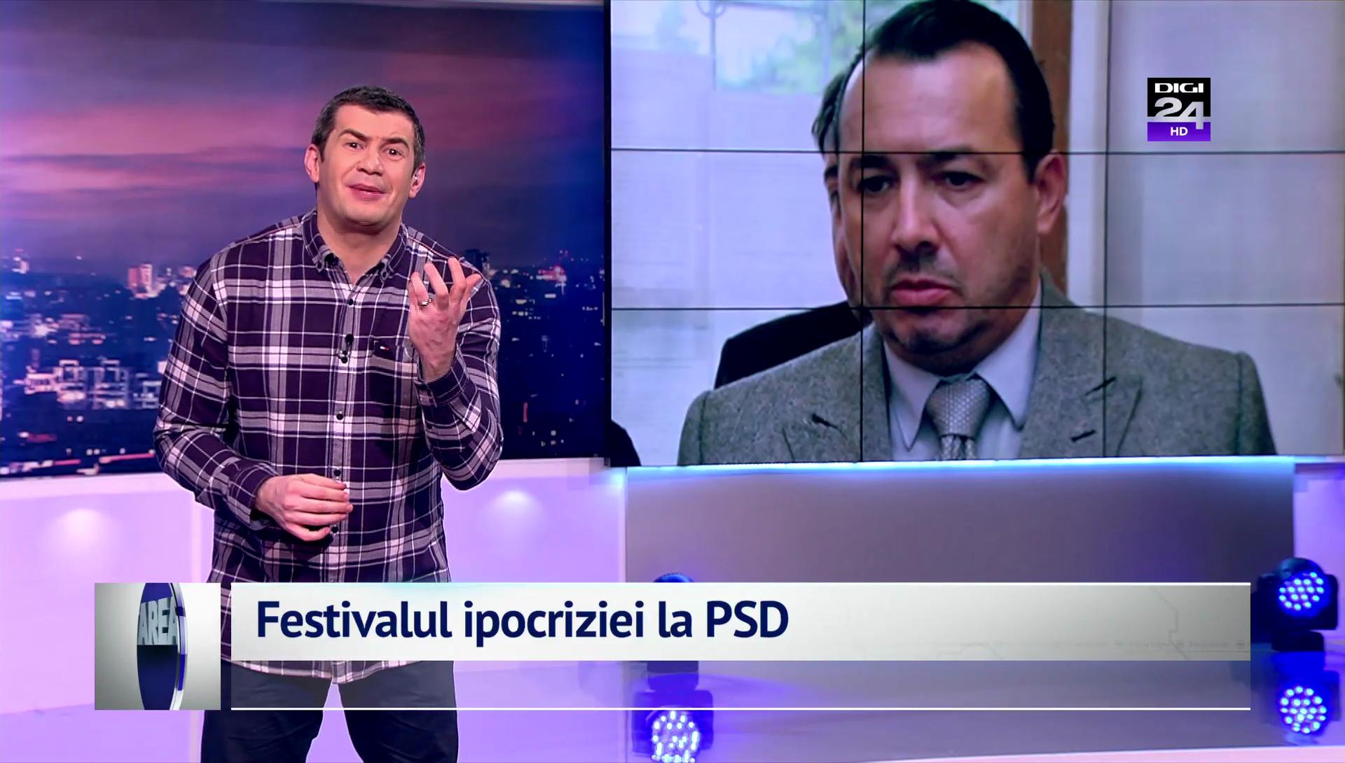 Festivalul ipocriziei la PSD
