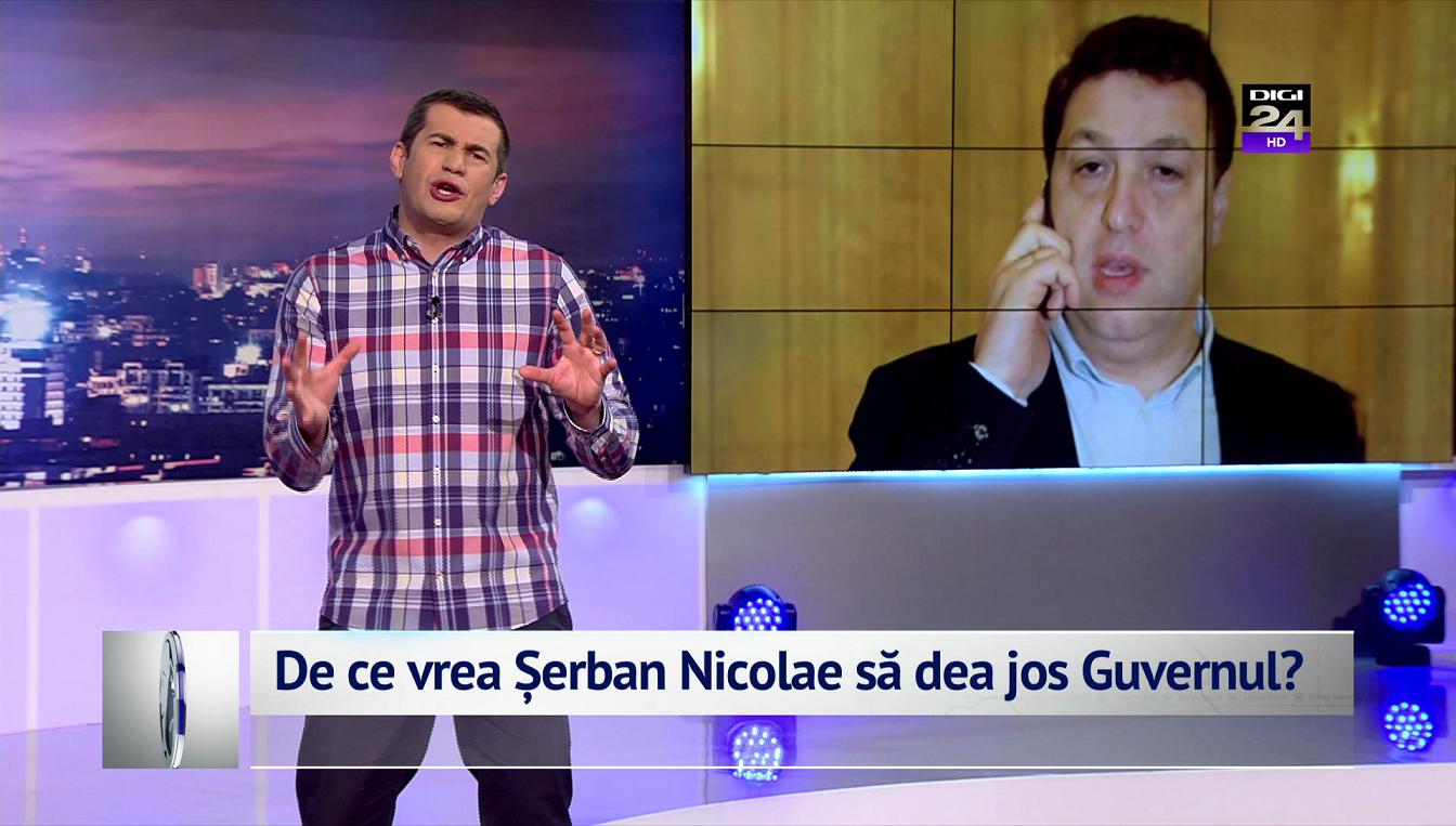 De ce vrea Șerban Nicolae să dea jos Guvernul?