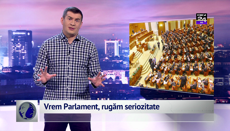 Vrem Parlament, rugăm seriozitate