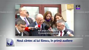 Noul cântec al lui Iliescu, în primă audiere