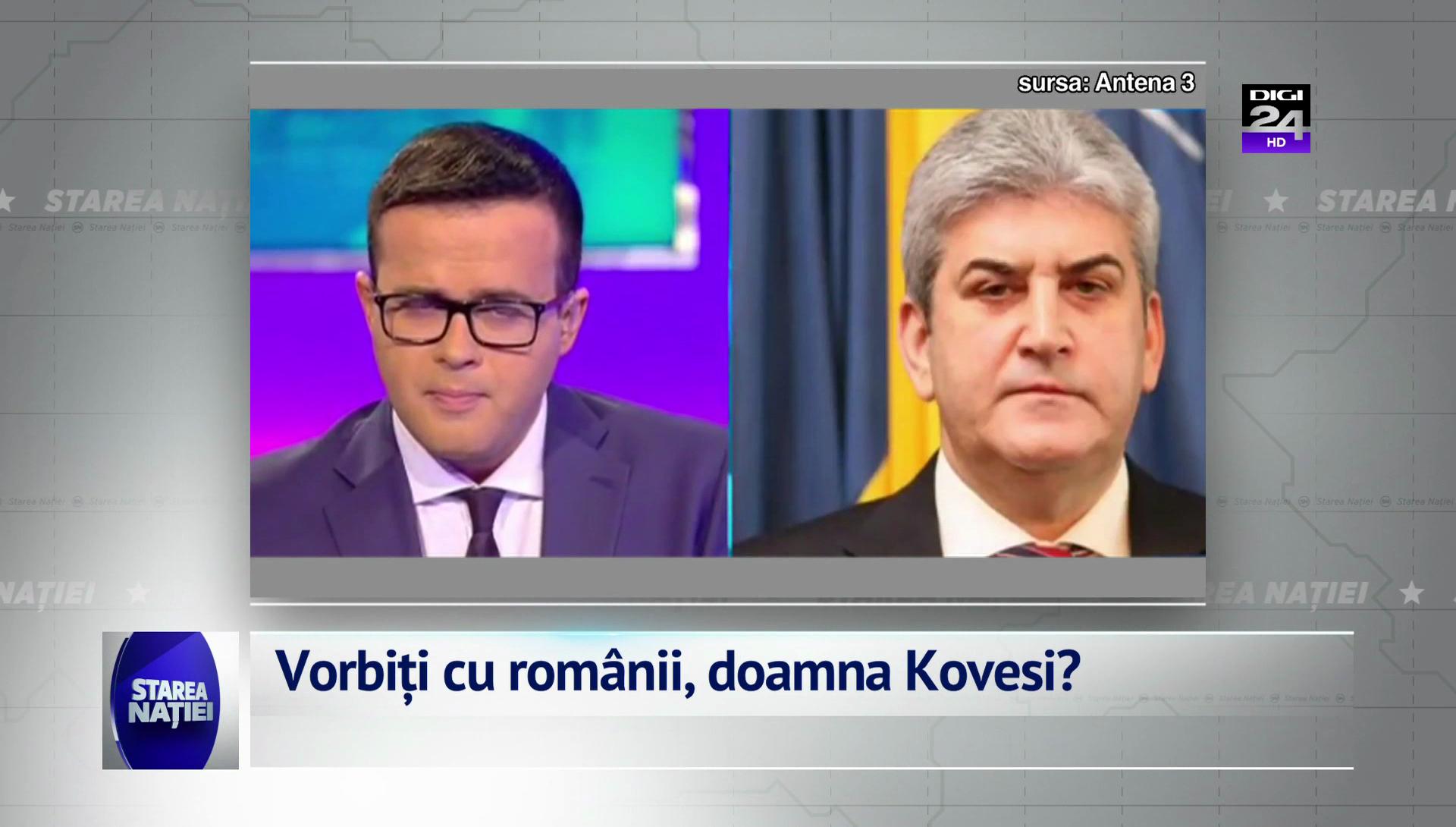 Vorbiți cu românii, doamna Kovesi?