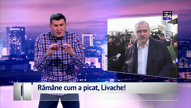 Române cum a picat, Livache!