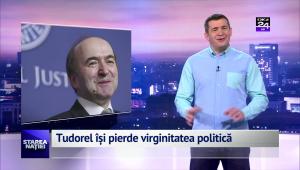 Tudorel își pierde virginitatea politică