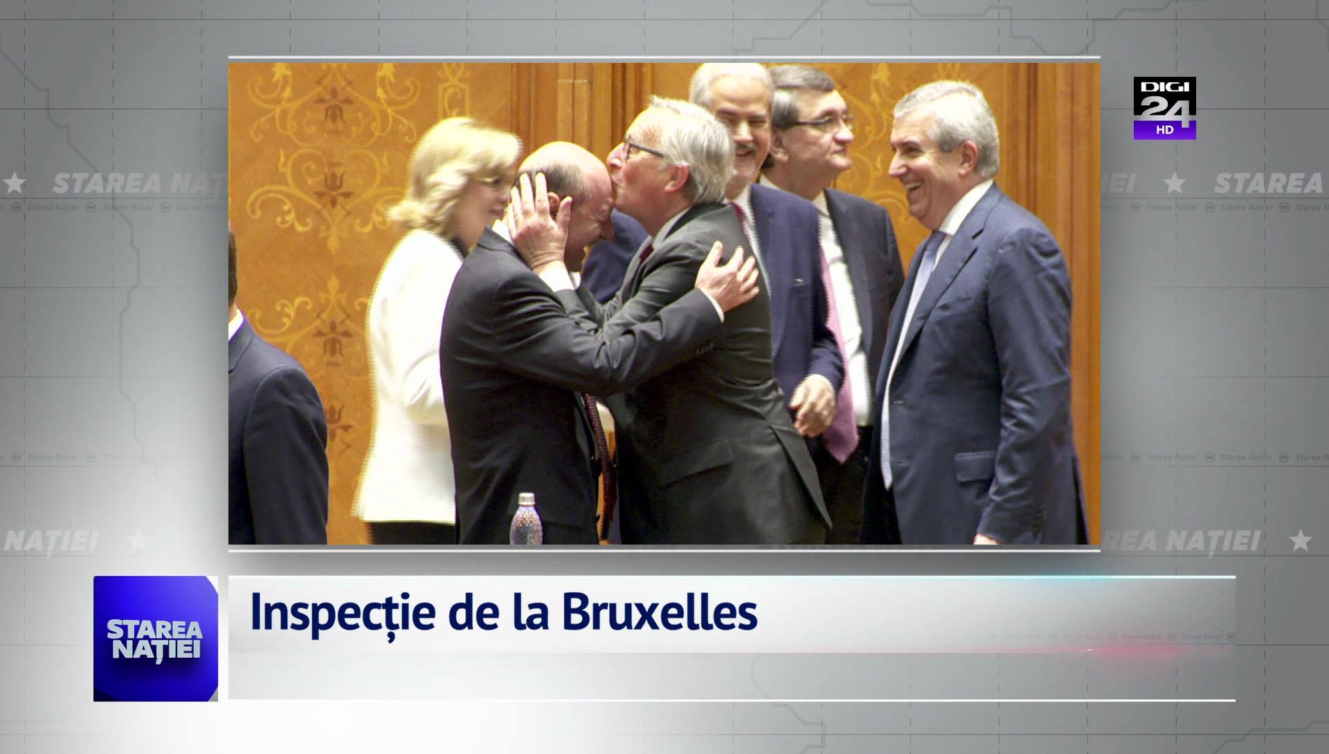 Inspecție de la Bruxelles