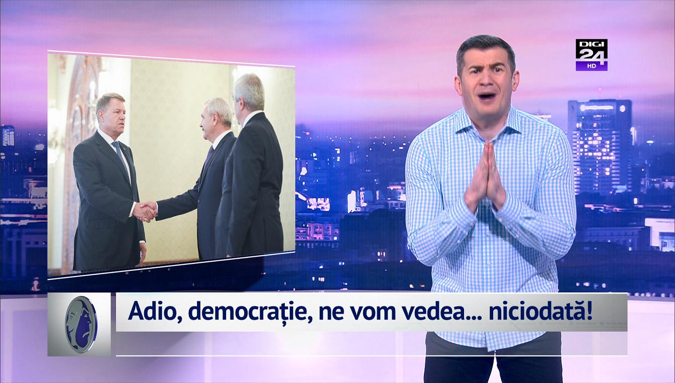 Adio, democrație, ne vom vedea... niciodată!