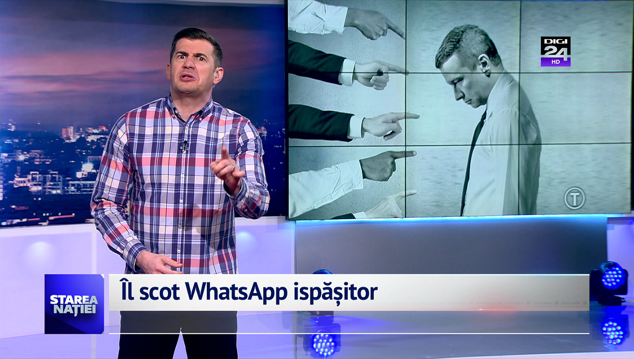 Îl scot WhatsApp ispășitor