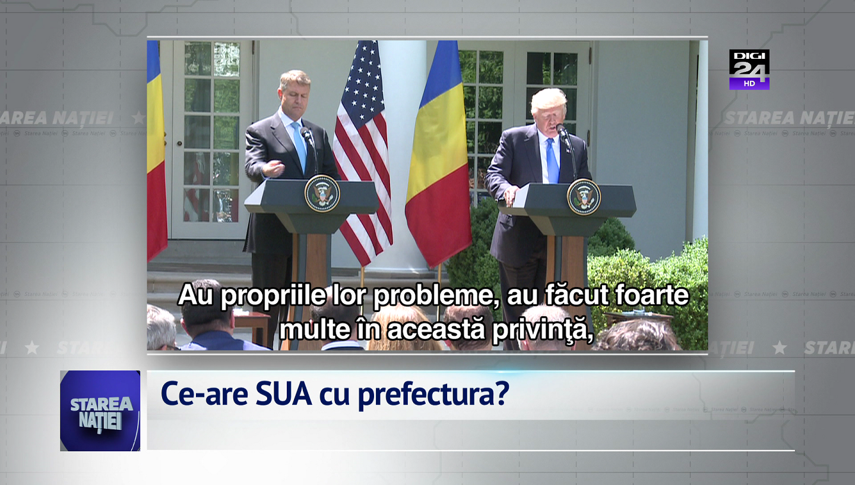 Ce-are SUA cu prefectura?