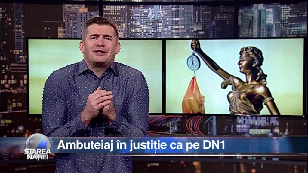 Ambuteiaj în justiție ca pe DN1