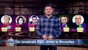 Din tenebrele PSD, direct la Bruxelles