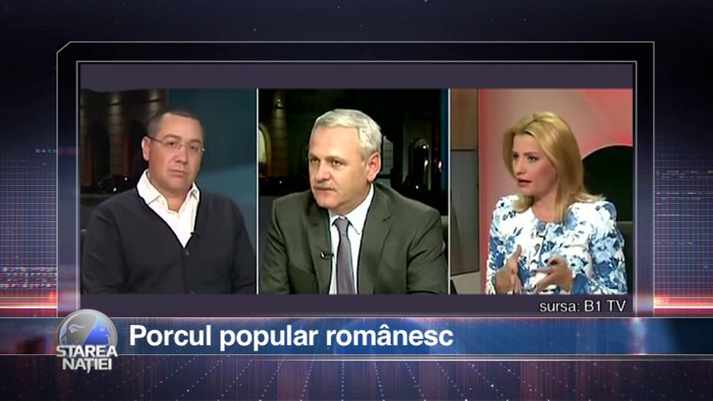 Porcul popular românesc