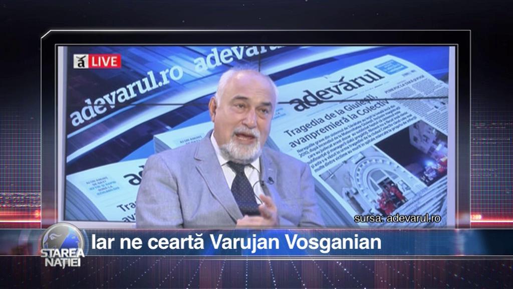 Iar ne ceartă Varujan Vosganian
