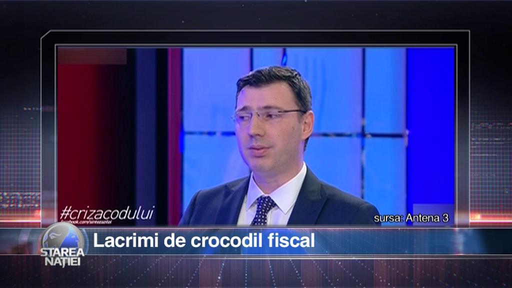 Lacrimi de crocodil fiscal