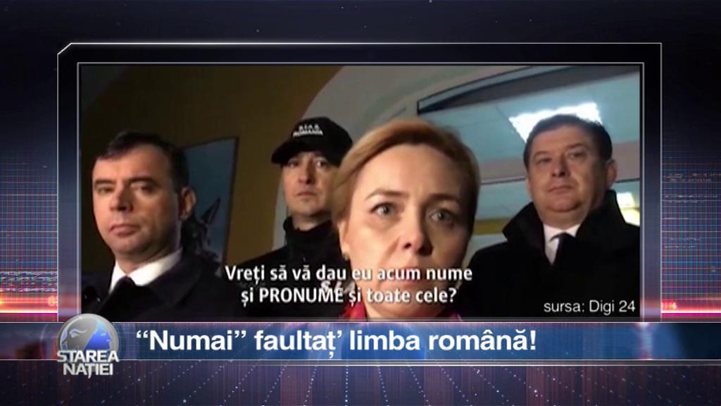 """""""Numai"""" faultaț' limba română!"""