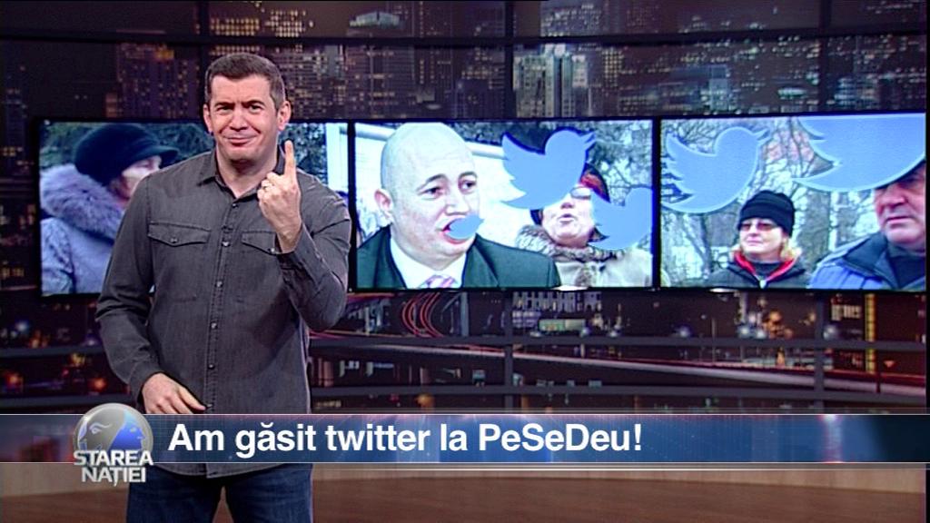 Am găsit twitter la PeSeDeu!
