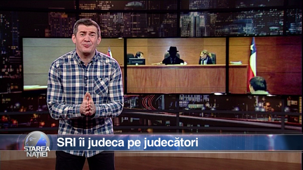 SRI îi judeca pe judecători