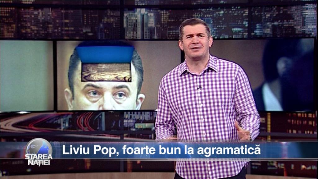 Liviu Pop, foarte bun la agramatică